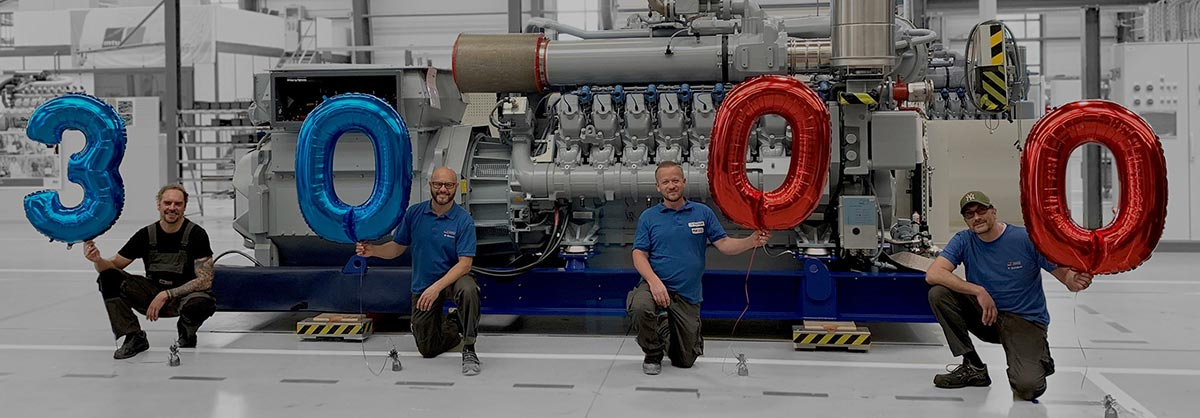 Rolls-Royce выпустила 3-тысячный газовый двигатель линейки 4000 Series