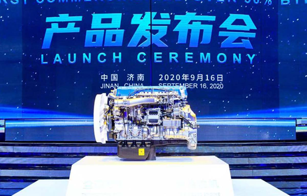 Weichai разработала дизельный двигатель с термальным КПД свыше 50%