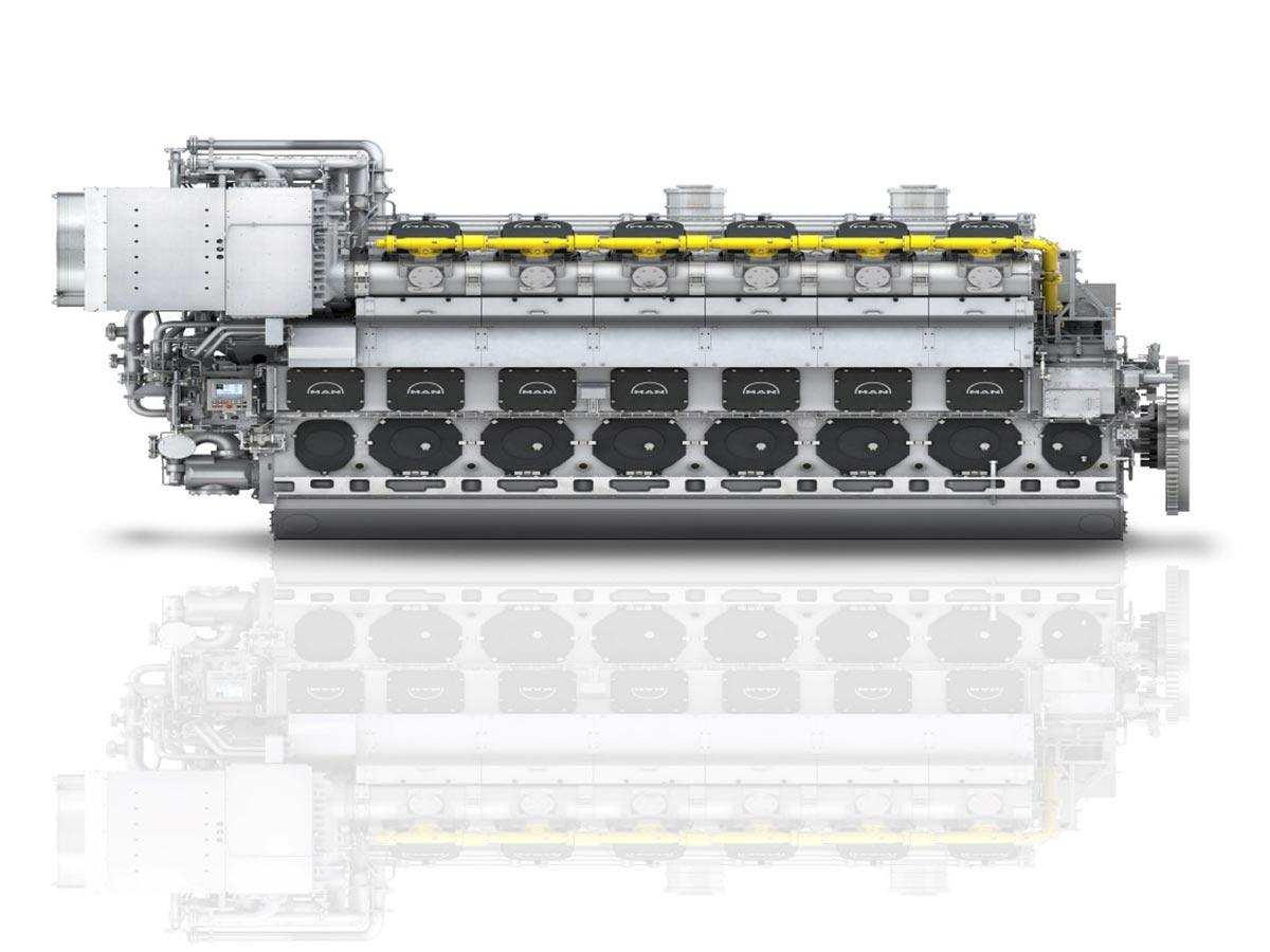 MAN расширяет поставки двухтопливных двигателей