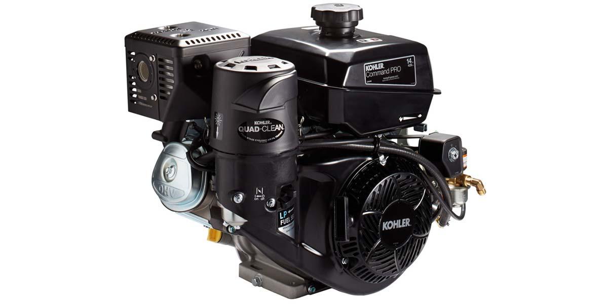 Kohler выпускает новый двухтопливный двигатель