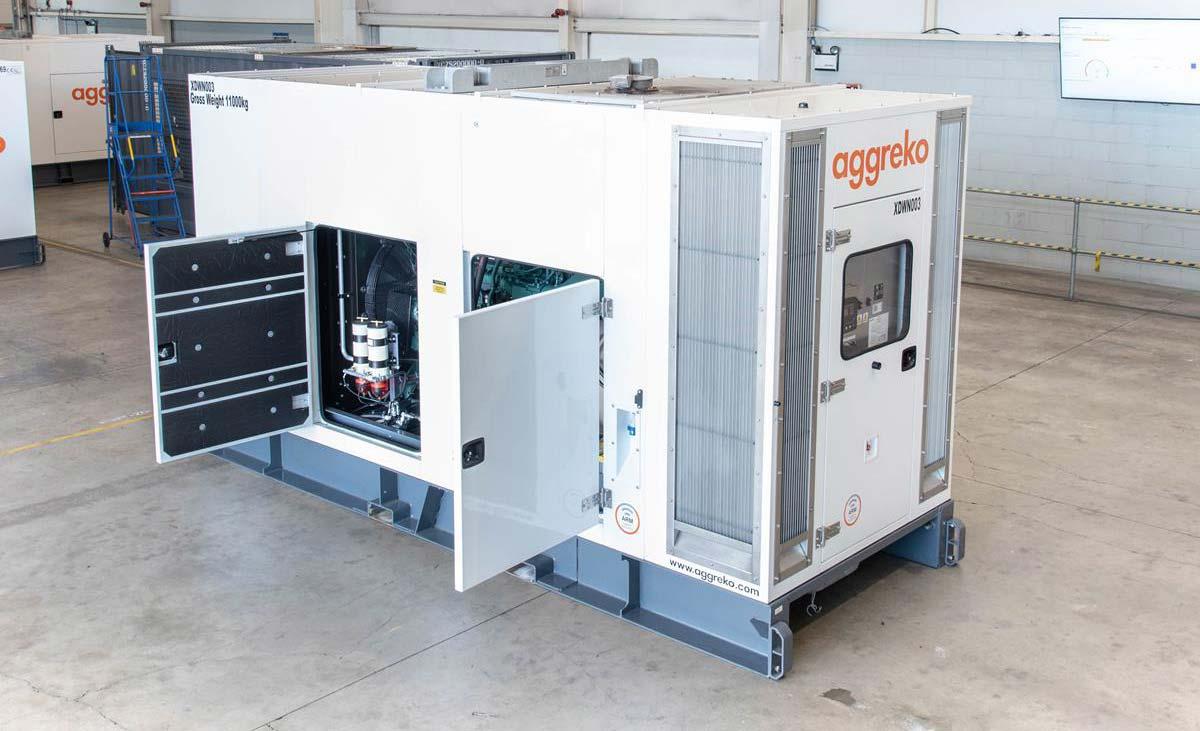 Представлен новый генератор Aggreko