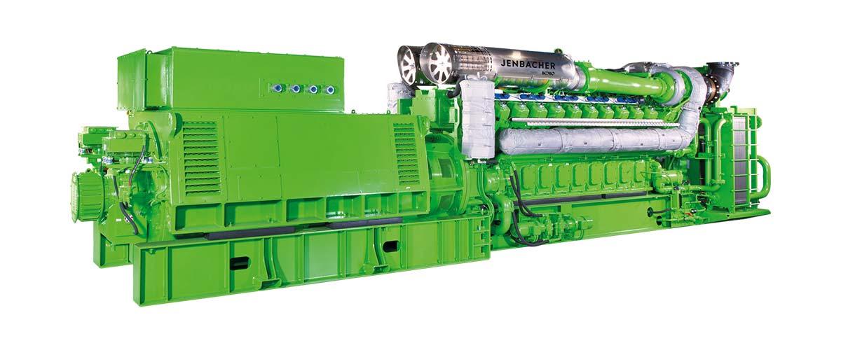 Газовый двигатель Jenbacher J620 J09