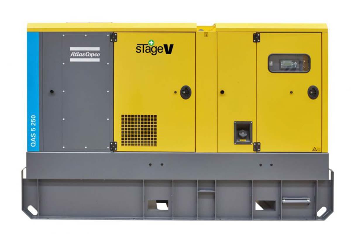 Представлены новые дизель-генераторы Atlas Copco