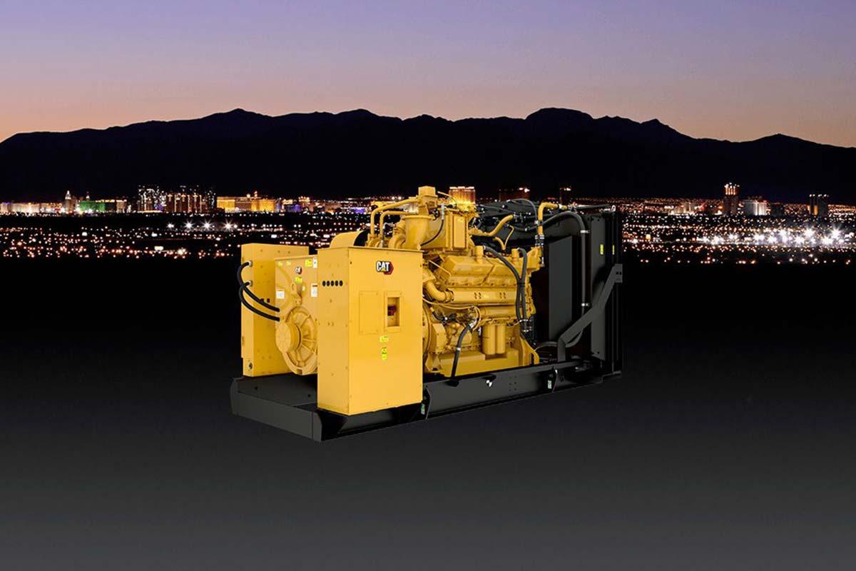 Caterpillar выпустила новый газовый генератор