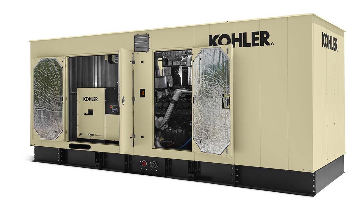 Представлены новые газовые генераторы Kohler