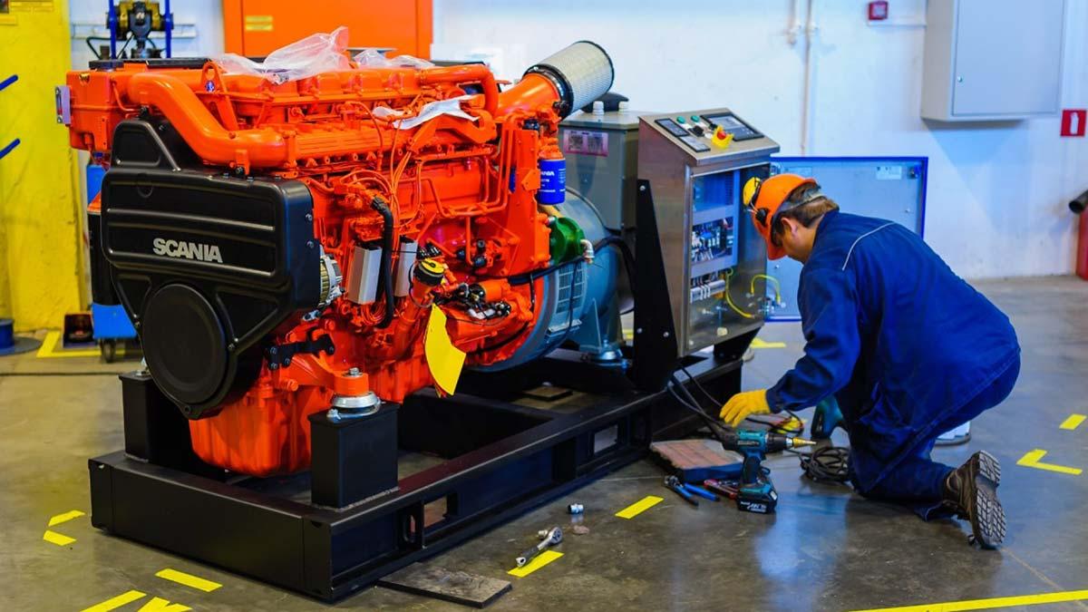 В России произведено более 1 200 электрогенераторов с двигателями Scania