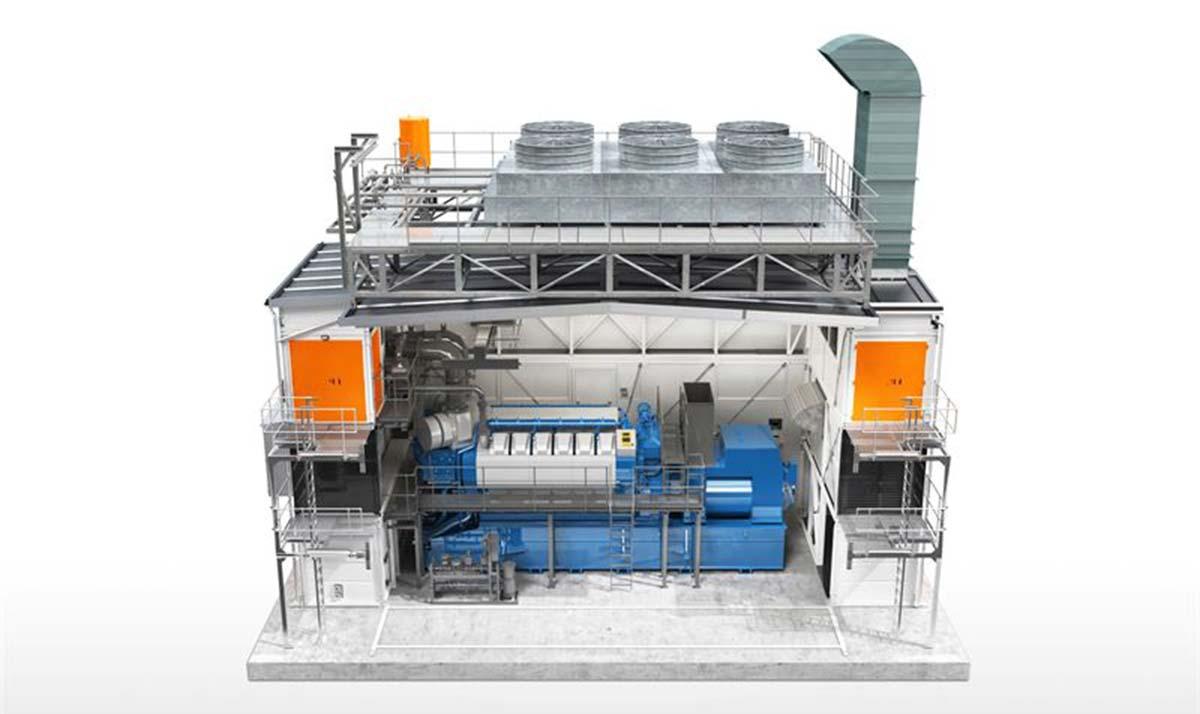 Wärtsilä начала поставки генераторов нового модульного типа