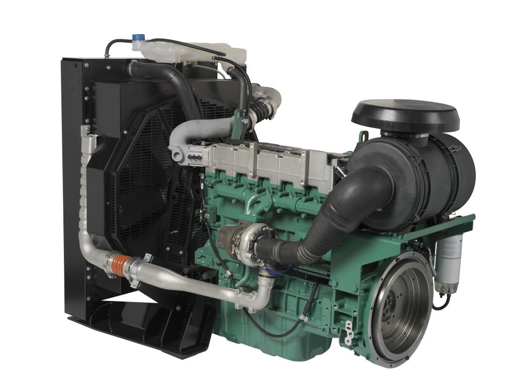 дизельный двигатель volvo penta tad 743 ge