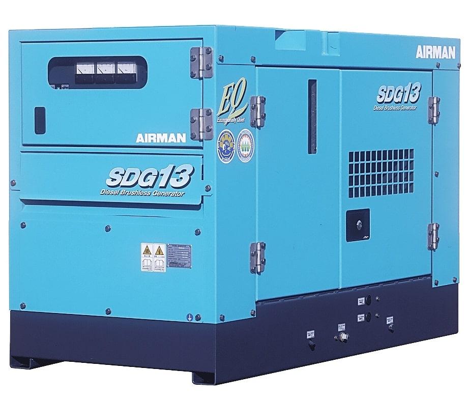 дизельная электростанция airman sdg13s