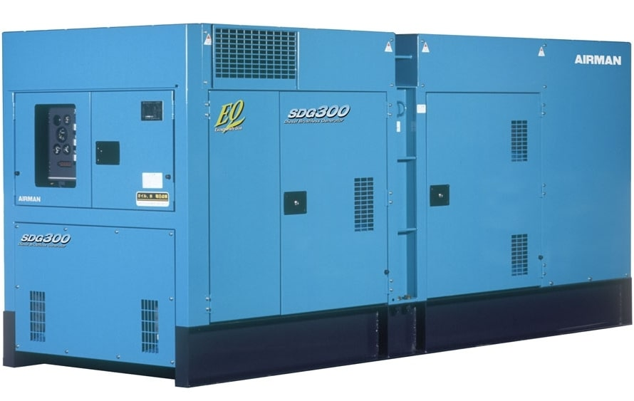 дизельная электростанция airman sdg300s