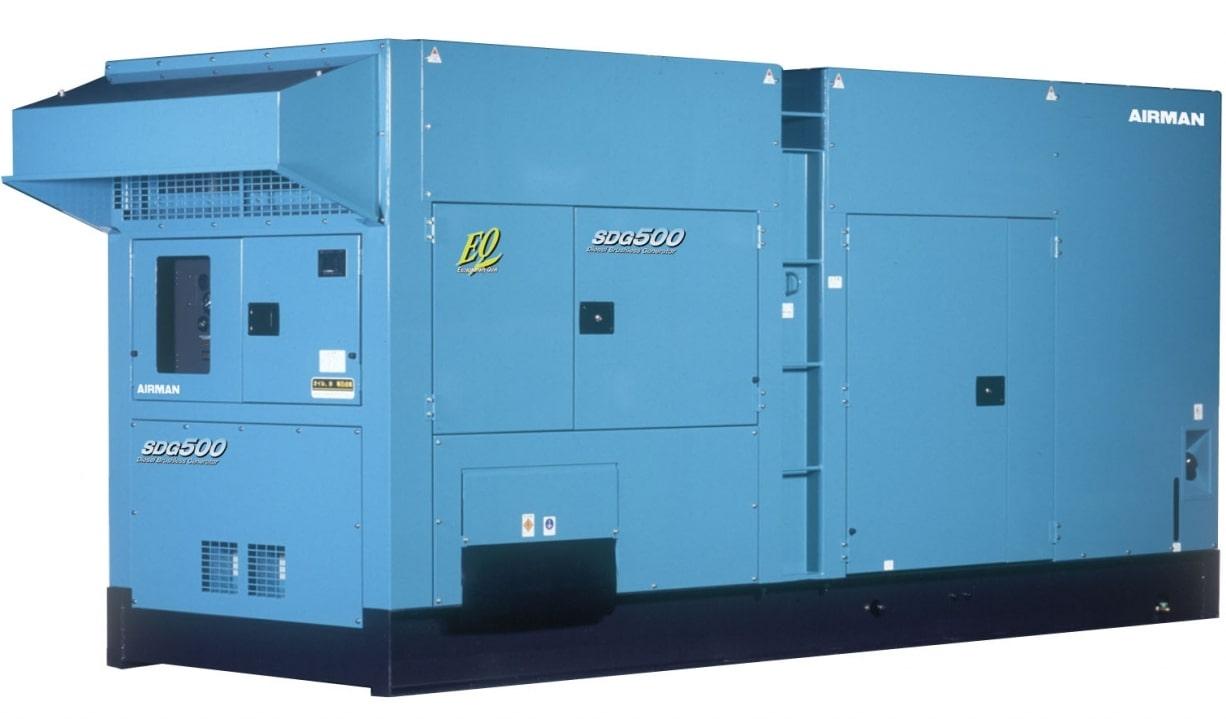 дизельная электростанция airman sdg500s