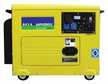 дизельная электростанция aksa aap 4200 de