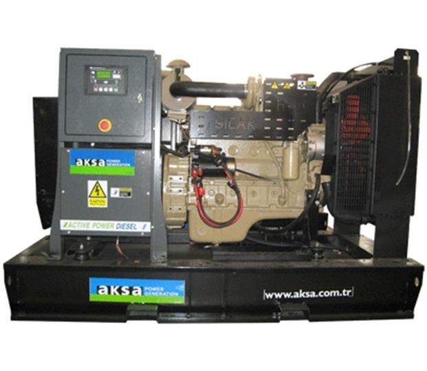 дизельная электростанция aksa ac-110