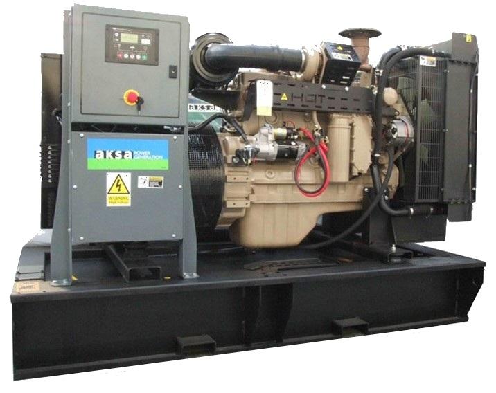 дизельная электростанция aksa ac-150