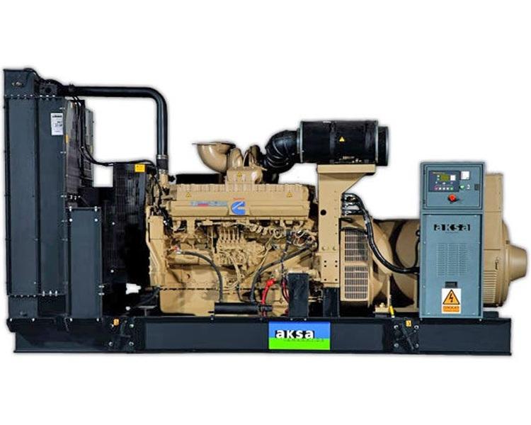 дизельная электростанция aksa ac-1650
