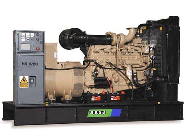 дизельная электростанция aksa ac-400