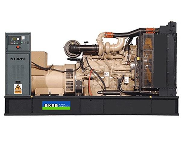 дизельная электростанция aksa ac-550