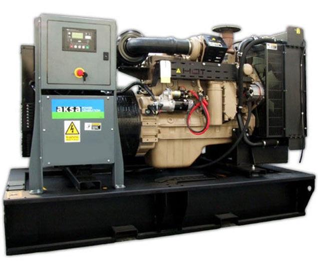 дизельная электростанция aksa ac-66