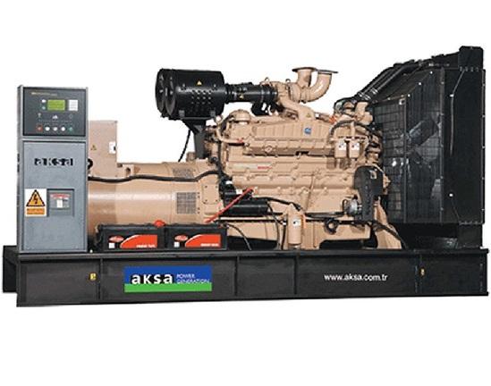 дизельная электростанция aksa ac-825