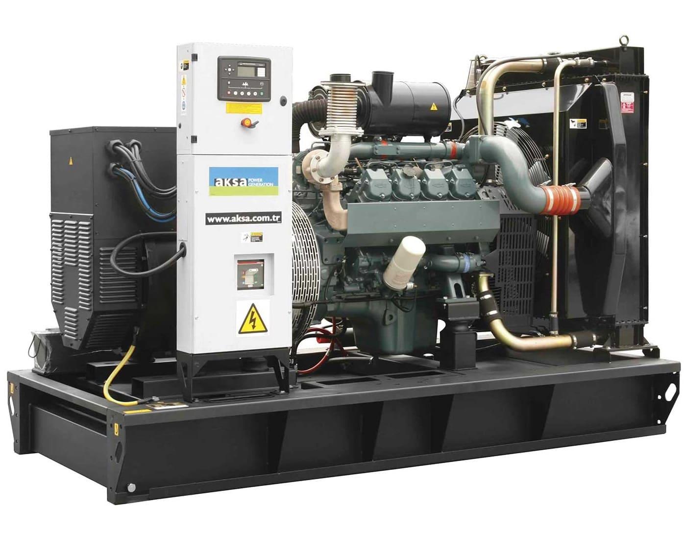 дизельная электростанция aksa ad-220