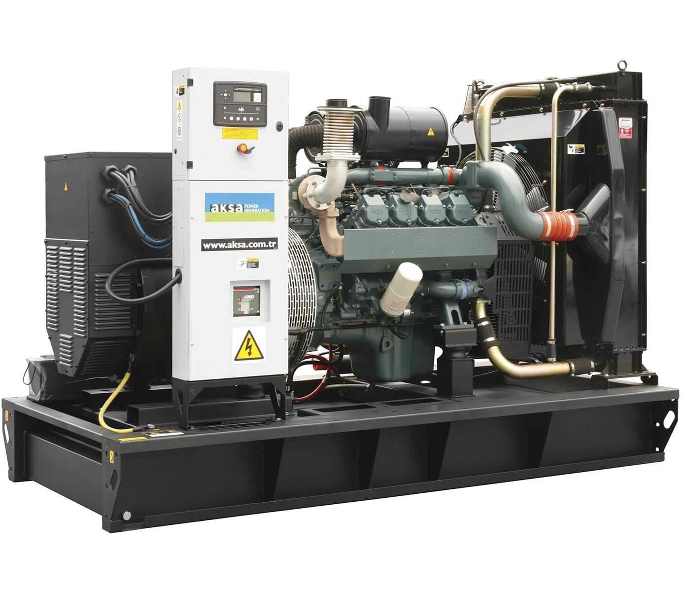 дизельная электростанция aksa ad-410