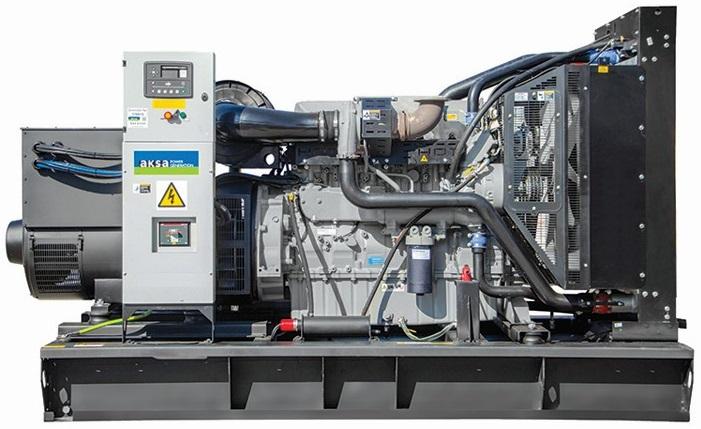 дизельная электростанция aksa ap 500