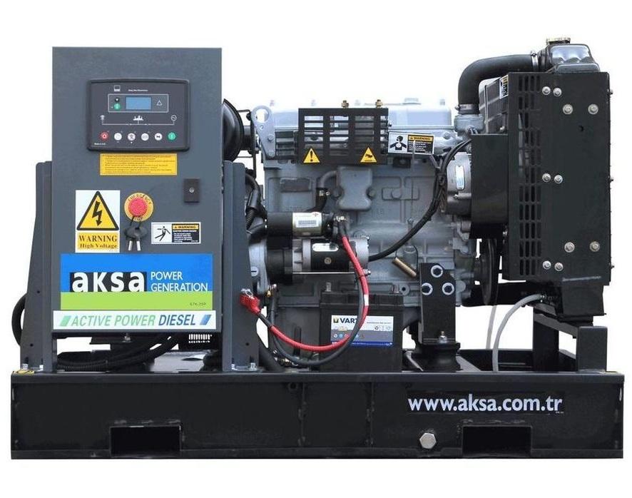 дизельная электростанция aksa apd12a