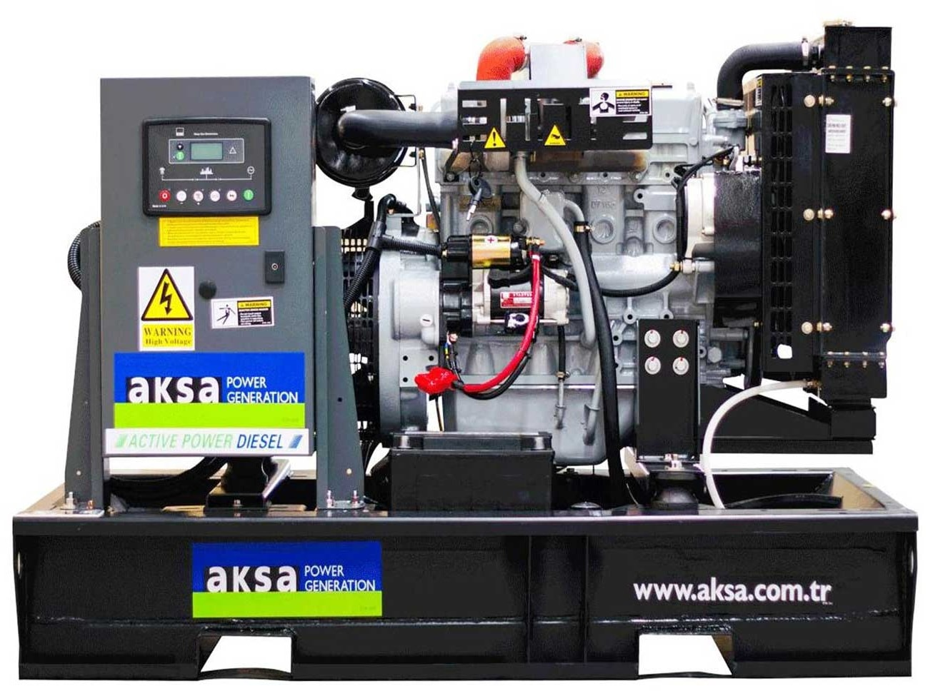 дизельная электростанция aksa apd33a