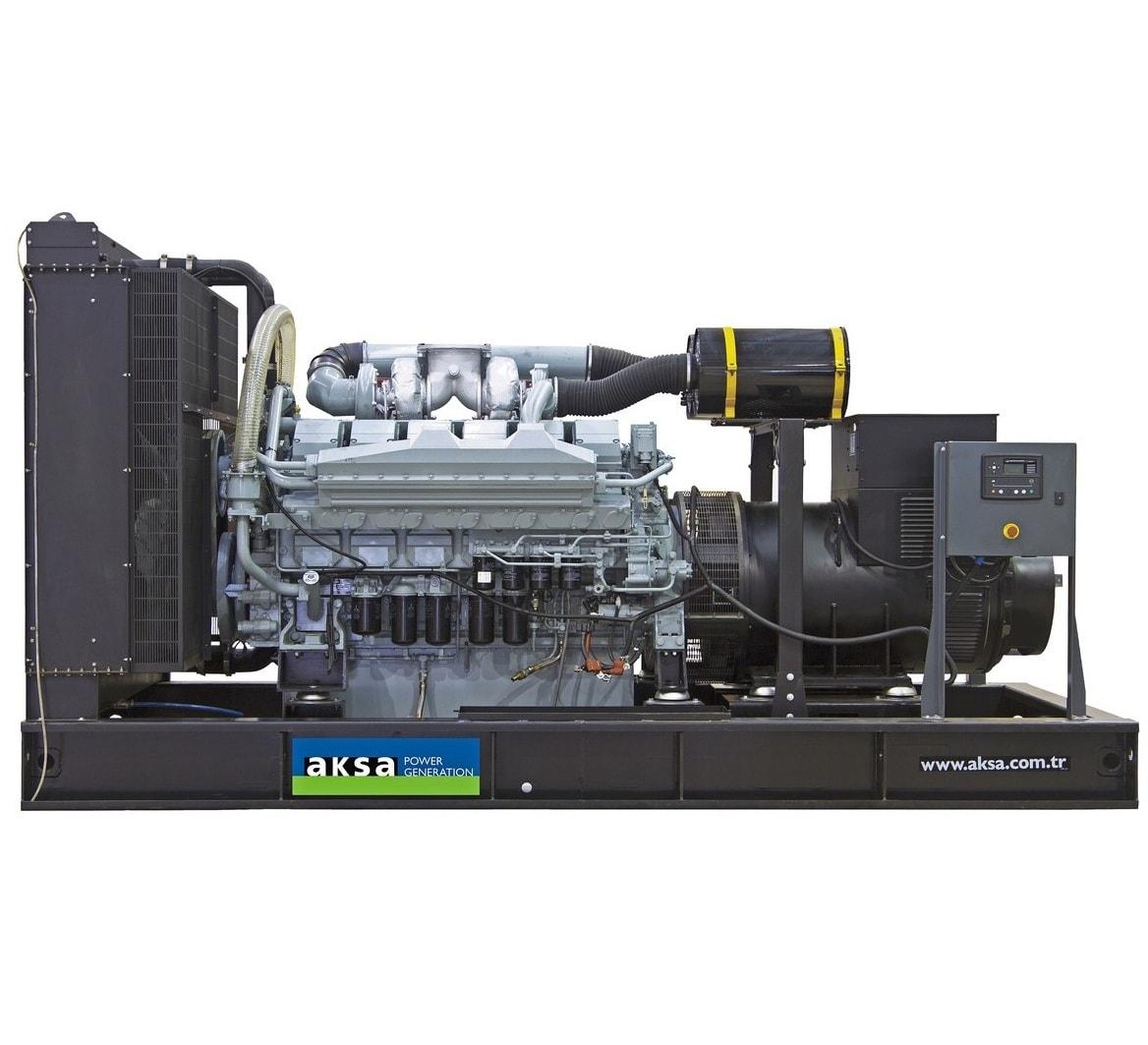 дизельная электростанция aksa apd825m