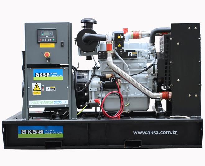 дизельная электростанция aksa apd90a