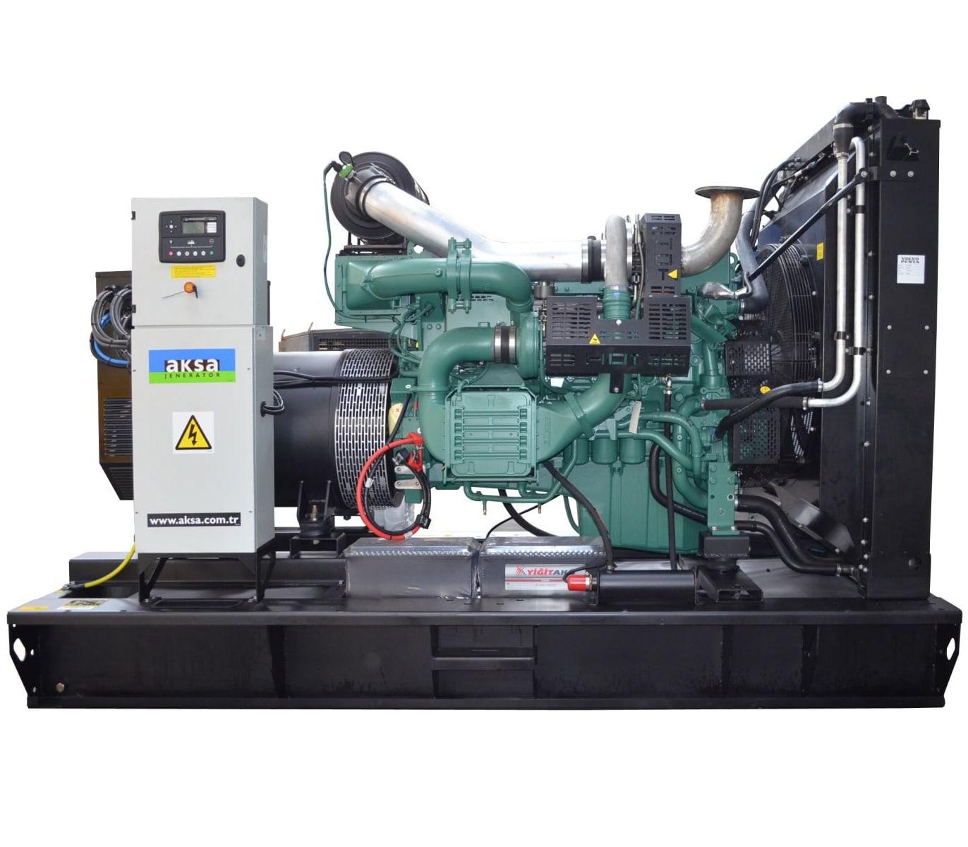 дизельная электростанция aksa avp-550