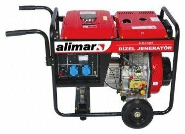 дизельная электростанция alimar alm-d-5000