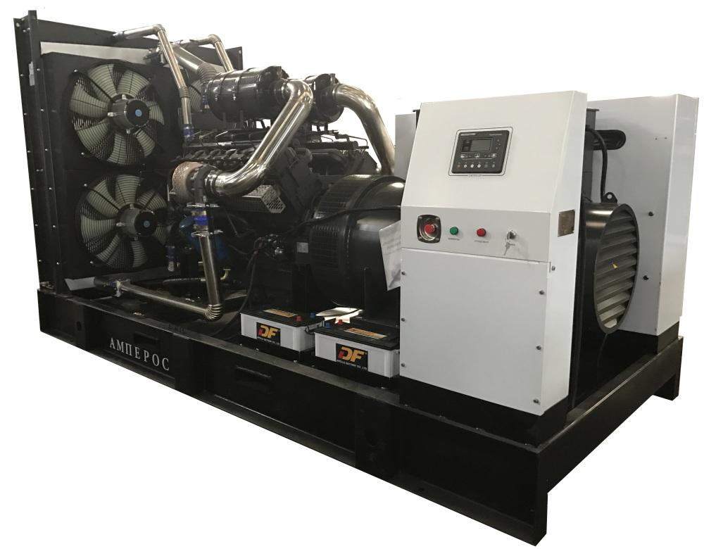 дизельная электростанция amperos ад 1200-т400