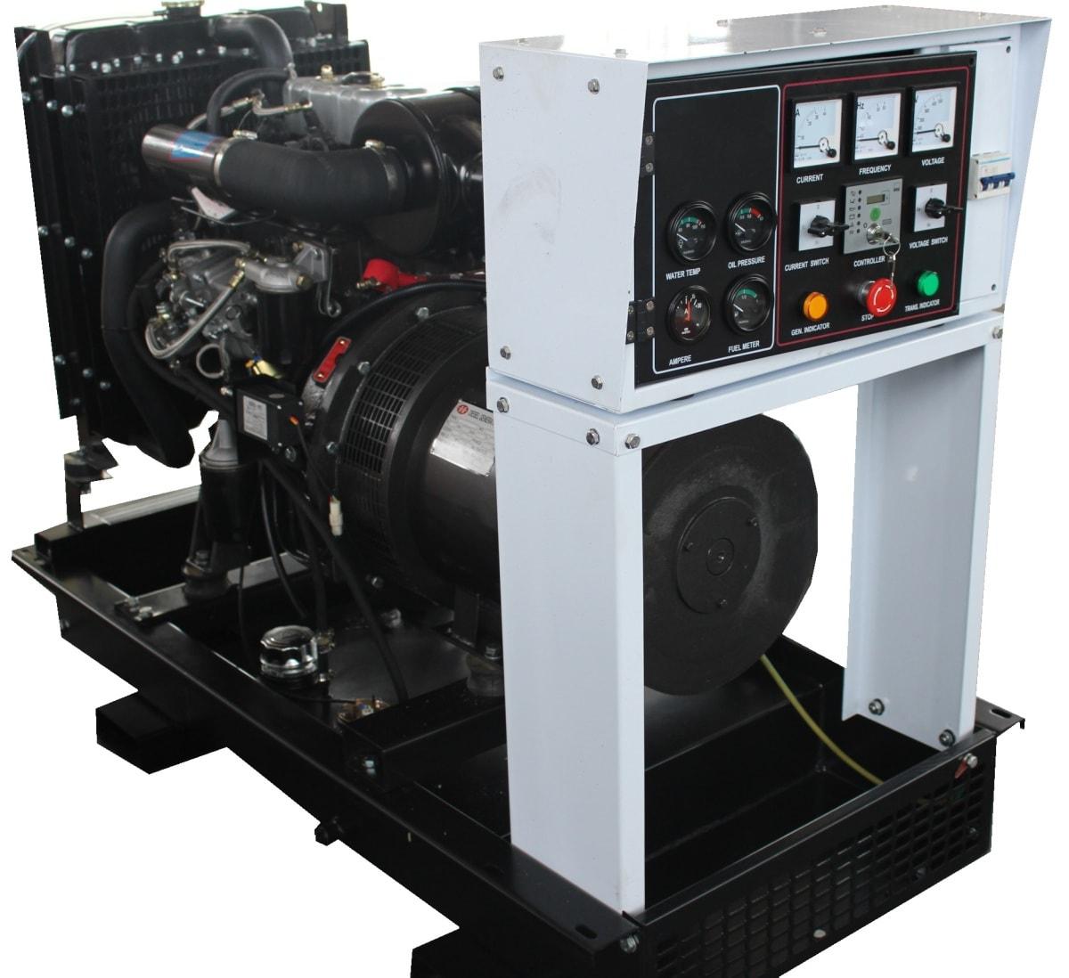 дизельная электростанция амперос ад 30-т400 b