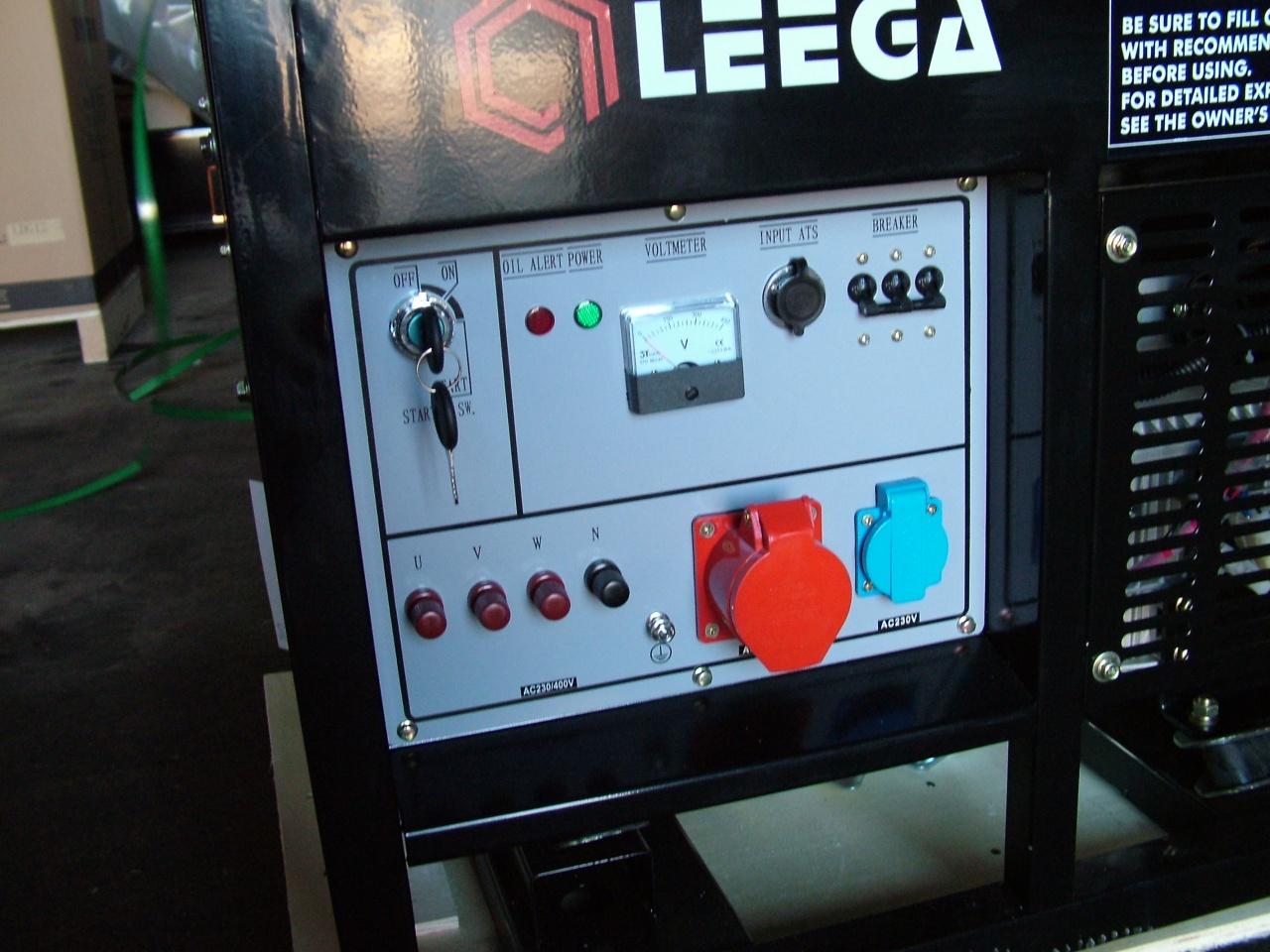 дизельная электростанция амперос ldg12 e