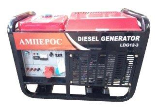 дизельная электростанция amperos ldg12e-3