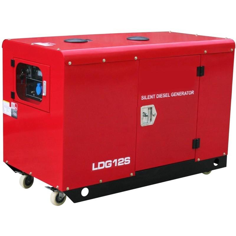 дизельная электростанция amperos ldg12s-3 e