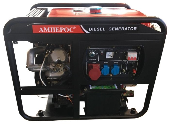 дизельная электростанция amperos ldg15000e-3