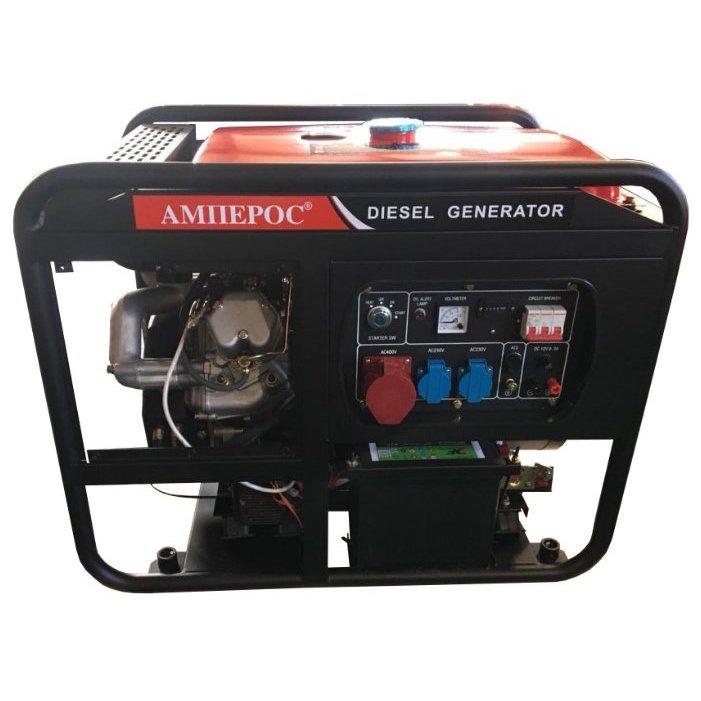дизельная электростанция амперос ldg16500e-3