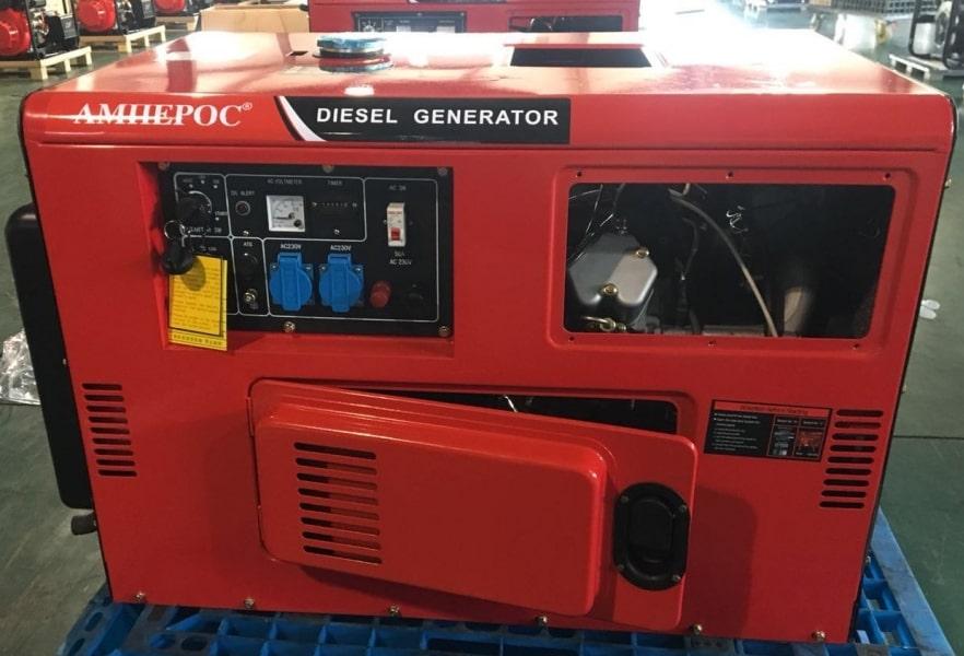 дизельная электростанция амперос ldg16500s