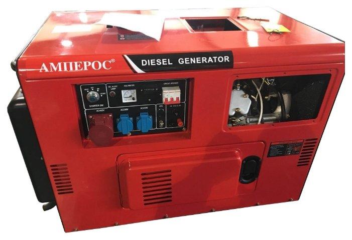дизельная электростанция амперос ldg16500s-3