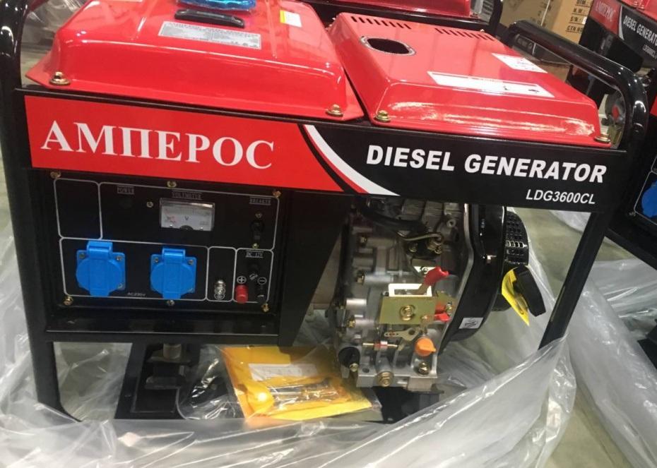 дизельная электростанция амперос ldg3600cl