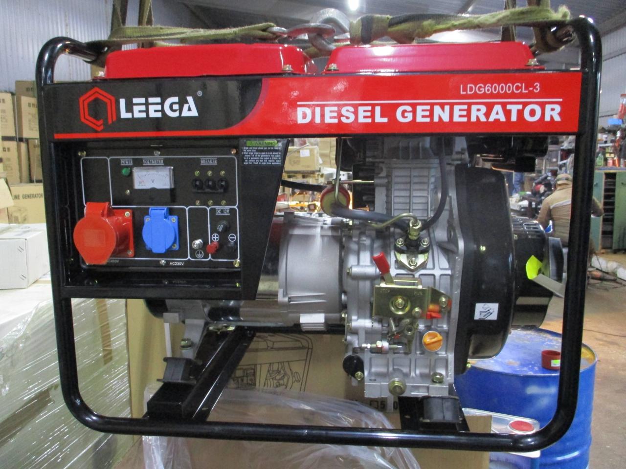 дизельная электростанция amperos ldg6000cl
