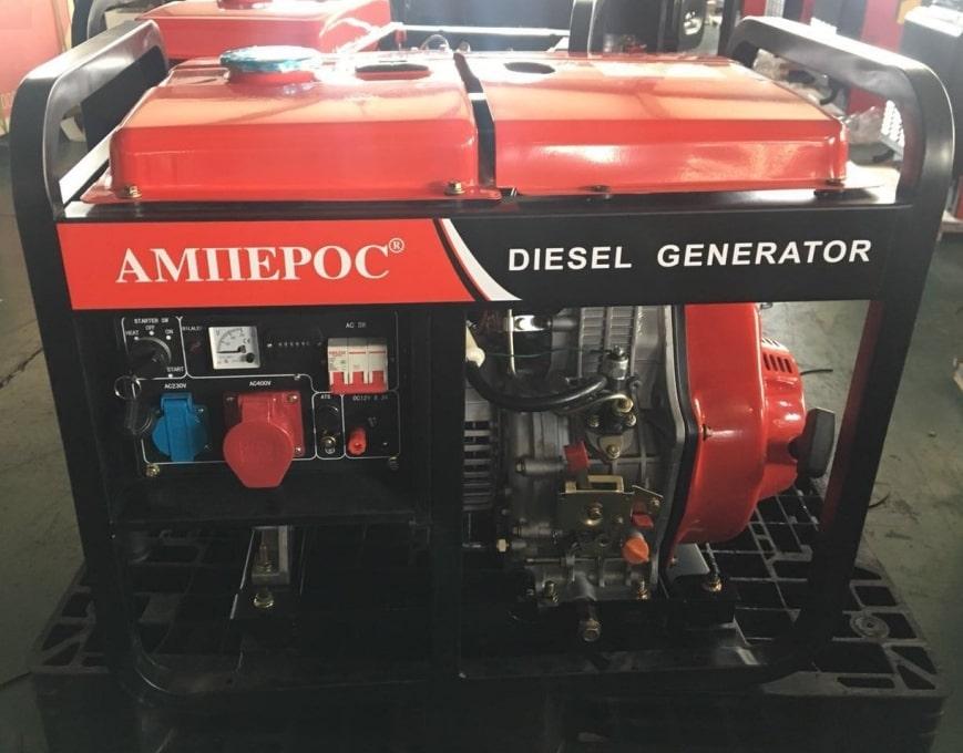 дизельная электростанция amperos ldg 8500e-3