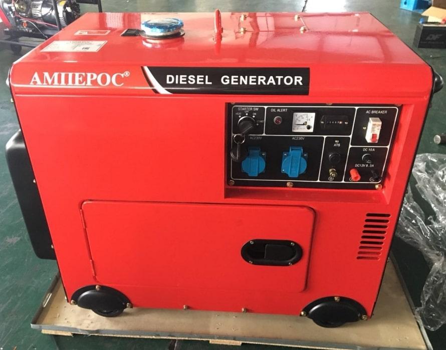 дизельная электростанция amperos ldg 8500s