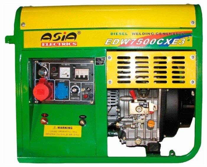 дизельная электростанция asia electrics edw7500cxe3