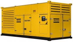 дизельная электростанция atlas copco qac 1000