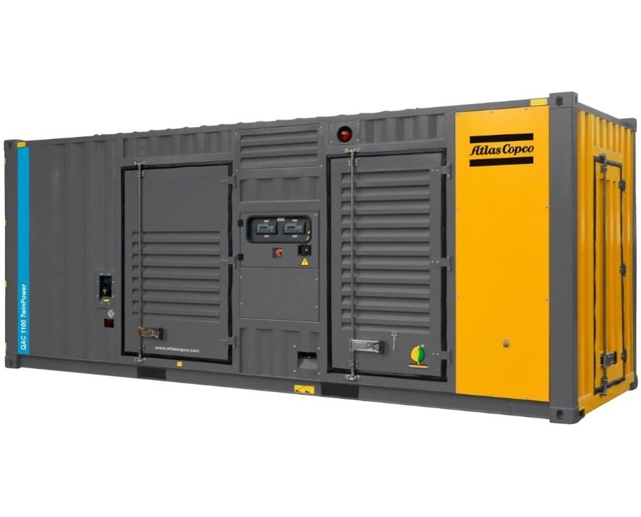 дизельная электростанция atlas copco qac 1100