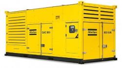 дизельная электростанция atlas copco qac 800