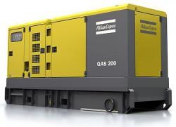 дизельная электростанция atlas copco qas 200